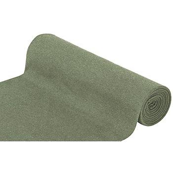Tissu bord-côte 'confort', vert olive mélangé
