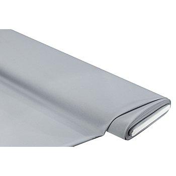 Tissu crêpe satin, gris argenté