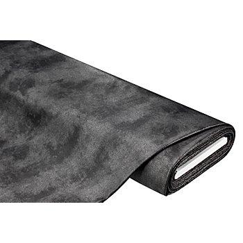 Romanit-Jersey mit Foliendruck, schwarz/silber