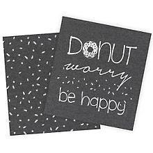 Baumwolljersey-Coupon 'Donut worry' mit Elasthan
