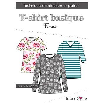 Fadenkäfer Patron 'T-shirt basique' pour femmes