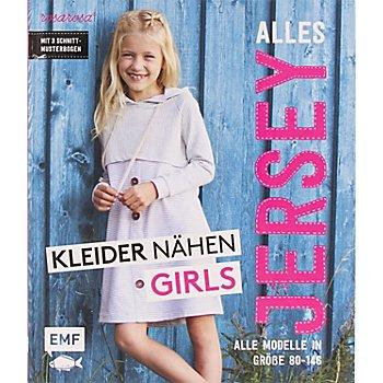 Buch 'Alles Jersey – Kleider nähen für Girls'