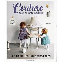 Livre 'Couture pour enfants modèles'