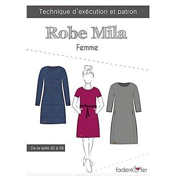 Fadenkäfer Patron 'Robe Mila' pour femmes