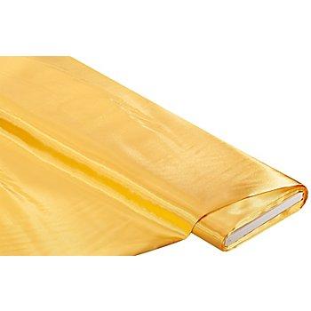 Tissu satin, jaune soleil
