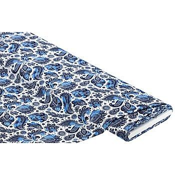Blusenstoff, blau-color