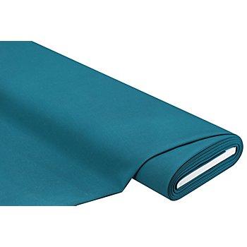 Tissu gabardine, bleu pétrole