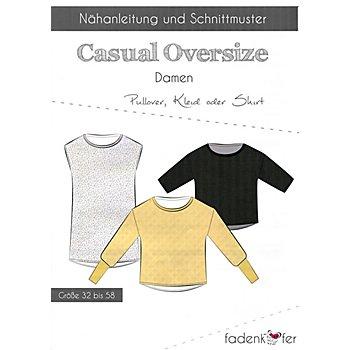 Fadenkäfer Schnitt 'Casual Oversize' für Damen