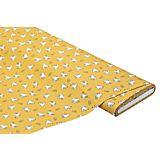 "Popeline ""Maus"", gelb-color"