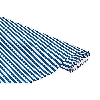 Streifen-Jersey, blau/weiß
