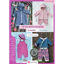 Livre 'Vêtements de bébé à coudre - de 0 à 12 mois'