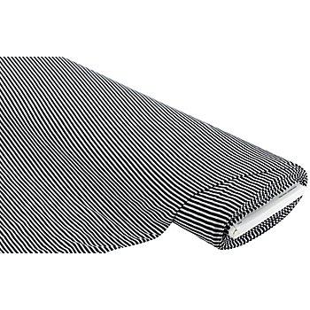 Leichtstrick 'Ringel', schwarz/weiß