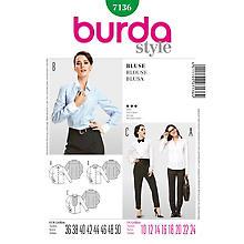 burda Patron 7136 'chemise - coupe classique'