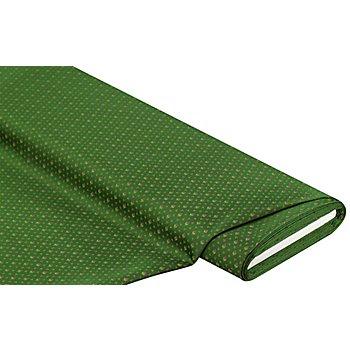 Jacquard 'Blümchen', grün