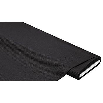 Baumwoll-Stretch gemustert, schwarz