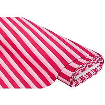 Sweatstoff 'Streifen', pink-color