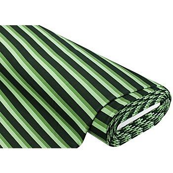 Sweatstoff 'Streifen', grün-color