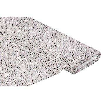Tissu velours milleraies 'motif géometrique', gris clair multicolore