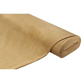 Mantelstoff mit Wolle, camel
