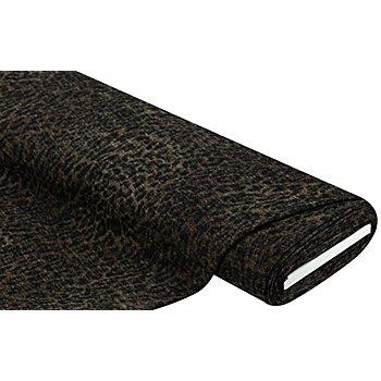 Tissu maille 'léopard', kaki