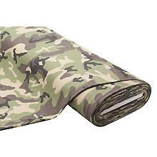 Sweat 'Camouflage', grün/braun