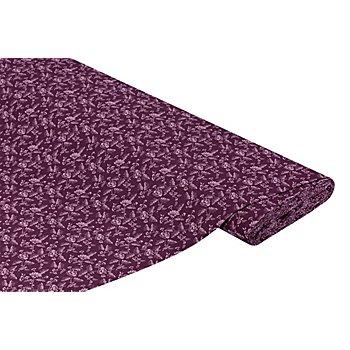 Tissu coton 'fleurs', fruits des bois