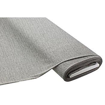 Tissu maille fin à rayures scintillantes, gris/argent