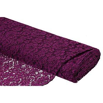 Tissu dentelle 'Amélie', violet