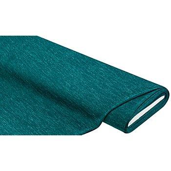 Tissu maille de qualité supérieure, bleu-vert