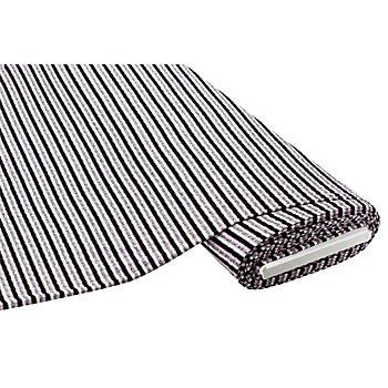 Rippstrick 'Streifen', grau/flieder