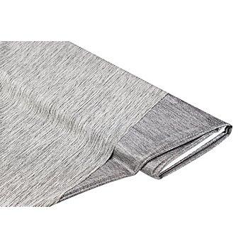 Leichtstrick 'Foliendruck', silber