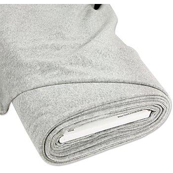 Tissu velours nicky, gris chiné