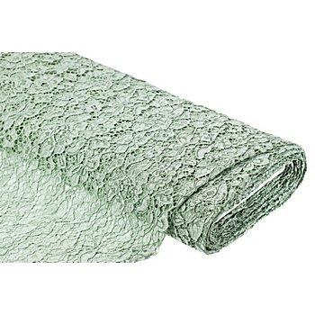 Spitzenstoff 'Amelie', lindgrün