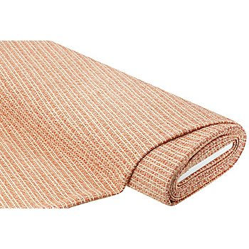 Tissu maille à structure 'scintillant', rouge/or