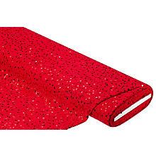 Spitzenstoff mit Pailletten, rot