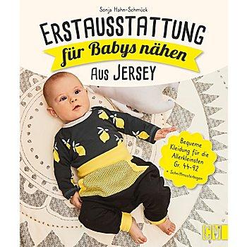 Buch 'Erstausstattung für Babys nähen – aus Jersey'