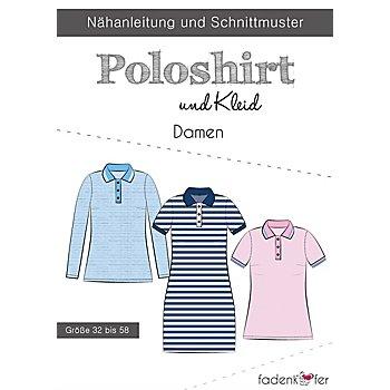 Fadenkäfer Schnitt 'Poloshirt & Kleid' für Damen