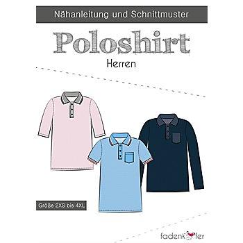 Fadenkäfer Schnitt 'Poloshirt' für Herren