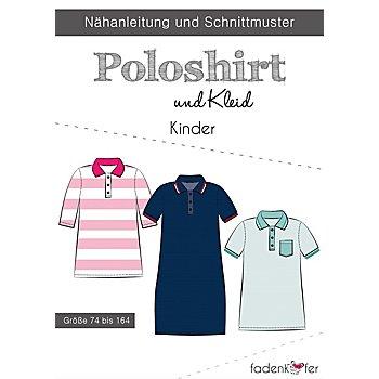Fadenkäfer Schnitt 'Poloshirt & Kleid' für Kinder