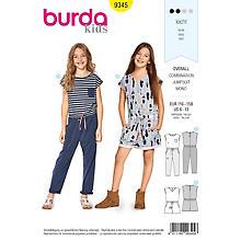 burda Patron 9345 'combi-pantalon' pour enfants