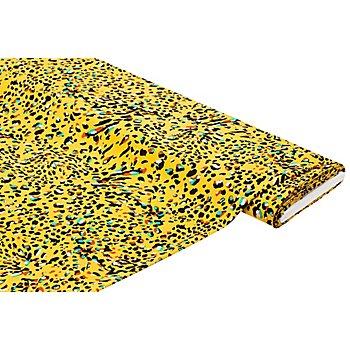 Viskose-Blusenstoff – Javanaise 'Leo', gelb-color