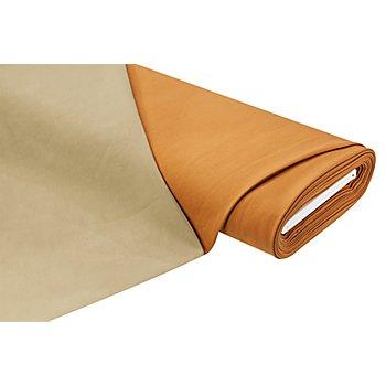 Tissu jeans double-face, ambre/vert olive