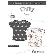 Fadenkäfer Schnitt 'Shirt Chilly' für Damen