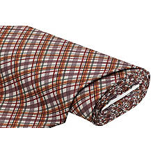Tissu sweat-shirt à côtes 'carreaux', multicolore