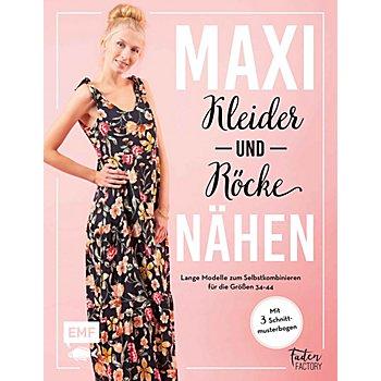 Buch 'Maxikleider und Maxiröcke nähen – Lange Modelle zum Selbstkombinieren für die Größen 34–44'