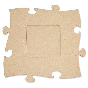 MDF-Puzzle-Bilderrahmen 'Quadrat', 24 x 24 cm