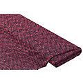 Elastik-Jersey Sportswear, neonpink/schwarz