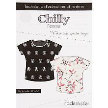 Fadenkäfer Patron 'Shirt Chilly' pour femmes