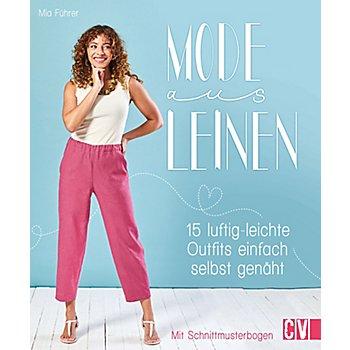 Buch 'Mode aus Leinen – 15 luftig-leichte Outfits einfach selbst genäht'