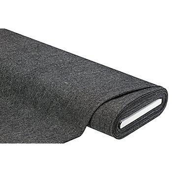 Tissu pour manteaux, noir/blanc